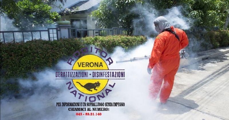offerta sanificazione ambienti Verona - occasione Giovanni Perez interventi di bonifica Verona