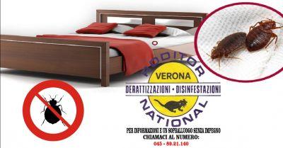 offerta igienizzazione contro le cimici da letto verona occasione disinfezione cimici verona