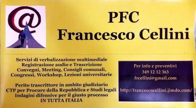 trascrizione di file audio