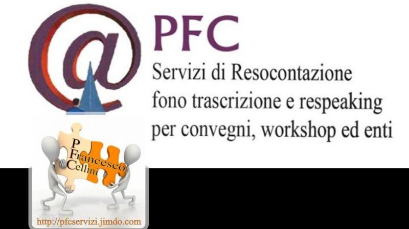 Registrazioni incise su audiocassette e file audio digitali da trascrivere al PC.