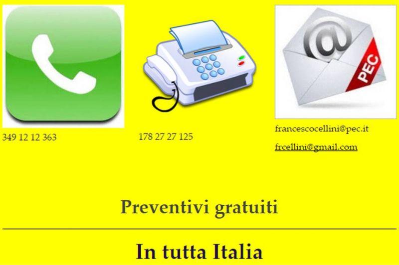 Francesco Cellini - Trascrizione al PC delle tue registrazioni audio e video - ASSEVERAZIONI