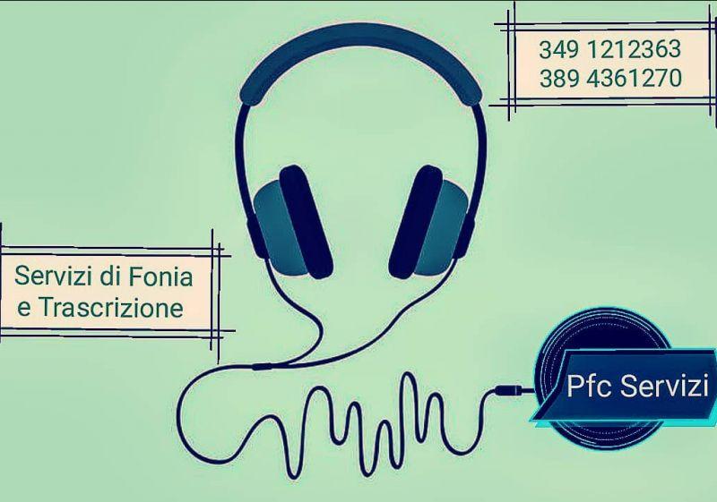 Francesco Cellini promozione trascrizione eventi - offerta servizio di trascrizione
