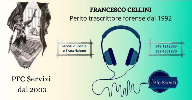 Offerta servizio di trascrizione da file audio su supporto digitale o analogico Cosenza