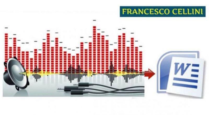 Offerta Trascrizioni peritali giurate – promozione trascrizione audio