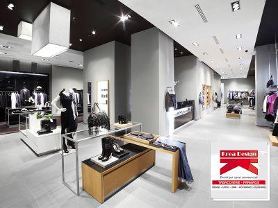 offerta progettazione arredi negozi promozione arredi spazi commerciali krea design