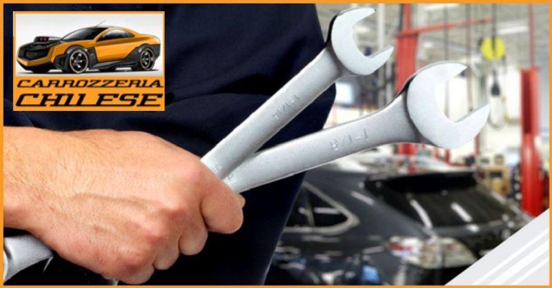 CARROZZERIA CHILESE - Occasione servizio professionale interventi carrozzeria auto Trissino