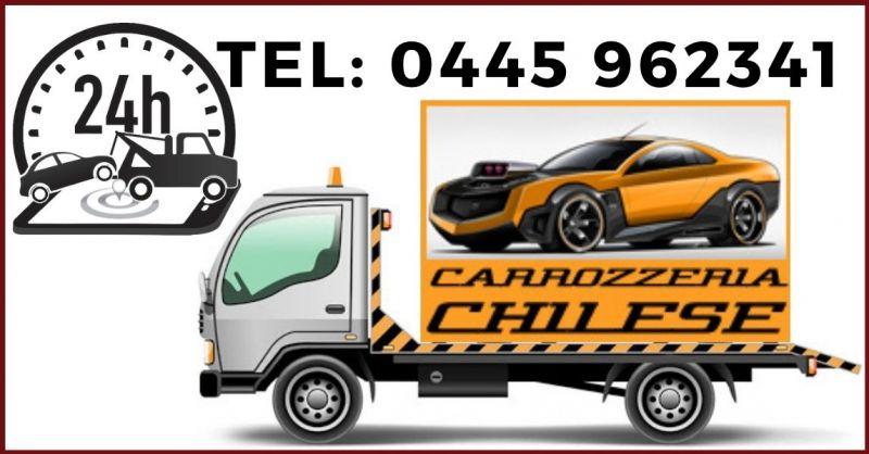 CARROZZERIA CHILESE SRL - Trova carrozzeria con servizio di Soccorso stradale 24 ore a Vicenza