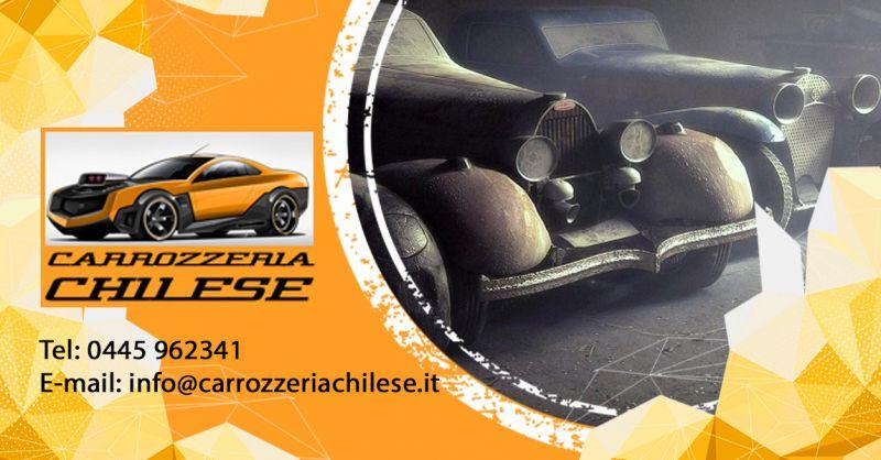 Carrozzeria Chilese - Trova una carrozzeria esperta in restauro auto e moto d'epoca a Vicenza