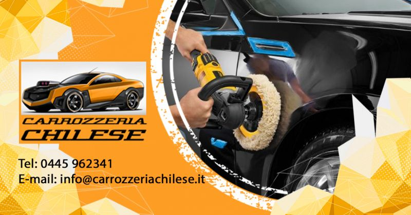 Carrozzeria Chilese - Trova una carrozzeria esperta in verniciatura auto colodi a base d'acqua