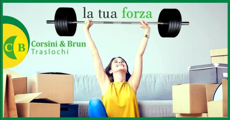 CORSINI & BRUN TRASLOCHI offerta traslochi con carrello elevatore Verona