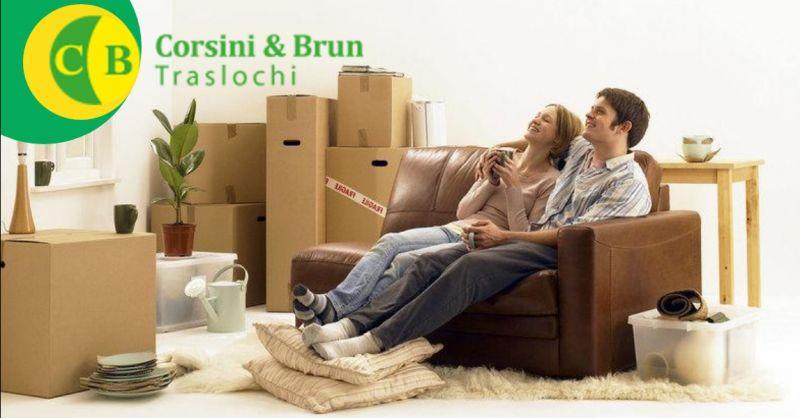 CORSINI & BRUN TRASLOCHI offerta servizio di imballaggio mobili Verona