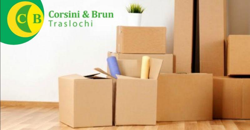 CORSINI & BRUN TRASLOCHI offerta servizi di trasloco e trasporto su misura Verona