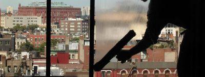 offerta servizio di pulizia vetri e vetrate di grandi dimensioni promozione pulizia pareti