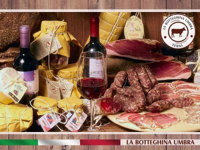 offerta occasione promozione prodotti tipici umbri salumi formaggi artigianali