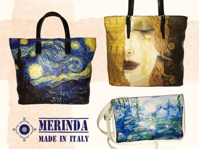 offerta borse darte promozione borsa stampa artistica merinda