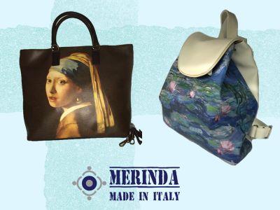 offerta sconto merinda store promozione borse artistiche merinda