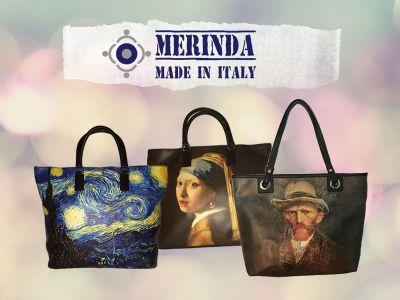 offerta borse artistiche promozione borsa stampa artistica merinda
