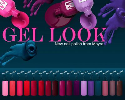 smalti gel gel look offerta promozione novita violablue smalto nail art nails moyra
