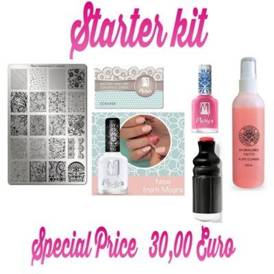 offerta starter kit nails stamping scraper smalto bergamo promozione nail art bergamo violablu