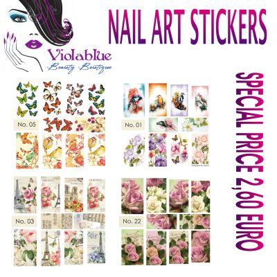 novita news offerta promozione nail stickers waterdecal adesivi per unghie tatoo