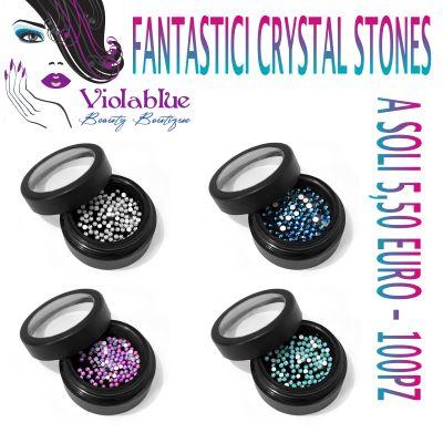 swarovski crystal stones nail art ricostruzione unghie unghie nails bergamo moyra