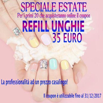 refill ricostruzione unghie gel estetica offerta promozione bergamo