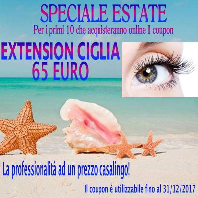 extension ciglia extension estetica allungamento ciglia bergamo promozione offerta