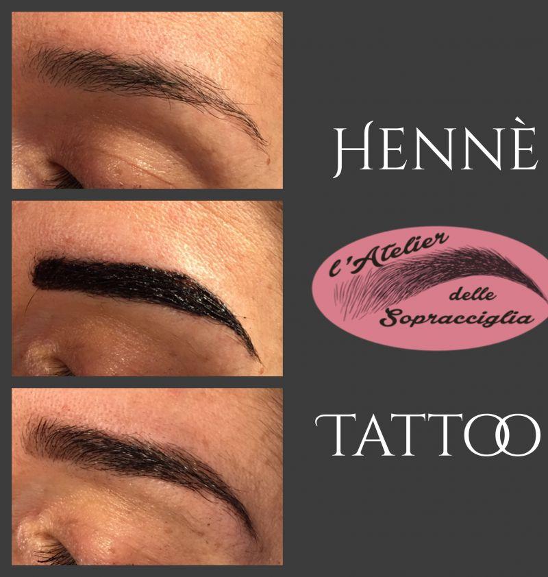 offerta tattoo hennè - trattamento sopracciglia