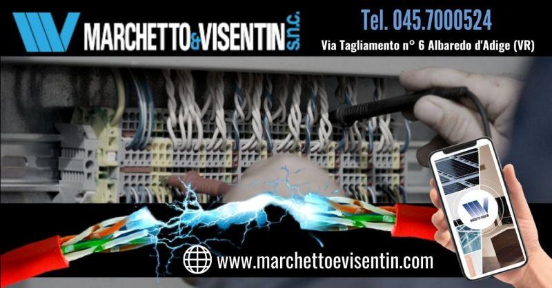 Offerta realizzazione impianti elettrici civili ed industriali - Occasione progettazione impianti domotici Verona