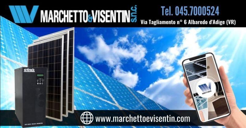 Offerta pulizia manutenzione pannelli solari Verona - Occasione installazione impianto fotovoltaico con accumulo