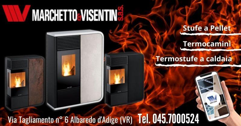 Offerta installazione termostufa legna pellet - Occasione vendita stufe a pellet di design moderno Verona