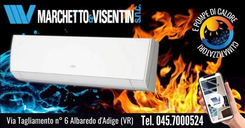 Offerta condizionatore Fujitsu in pompa di calore - Occasione miglior climatizzatore per riscaldamento Verona
