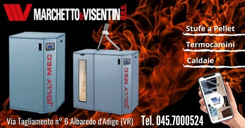 Offerta caldaia a pellet Jolly Mec 21 Verona - Occasione installazione caldaia a pellet con serbatoio Verona