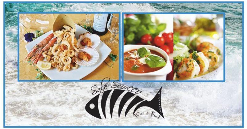 occasione ristorante menu pesce fresco Versilia - RISTORANTE SALE SCIOCCO
