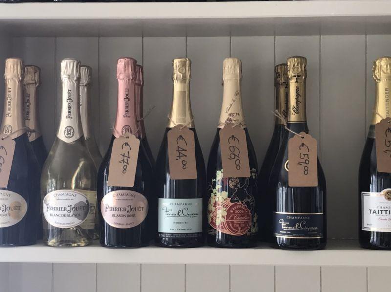 Offerta  vendita bottiglie champagne Lucca - Ristorante Sale Sciocco