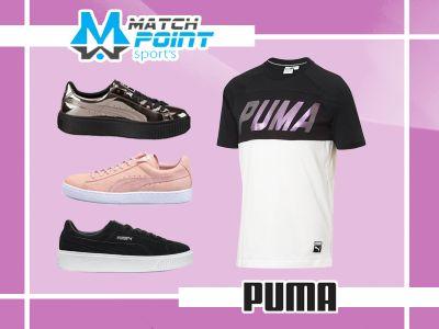 offerta scarpe puma promozione abbigliamento puma matchpoint sports torre annunziata napoli