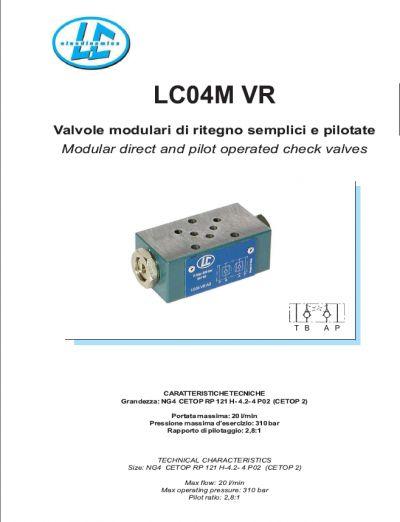 offerta valvola modulare lc l604000ab010000 promozione l604000ab010000 rexroth oleodinamicalc