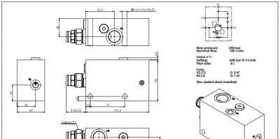 offerta mb000932 atlantic fluid tech per argani promozione valvole bilanciamento atlantic