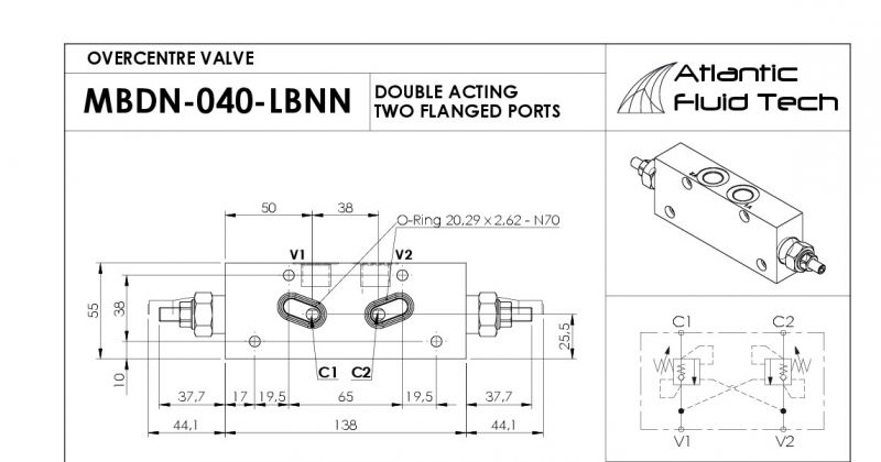 Offerta MB000410 - Promozione valvola Dual counterbalance