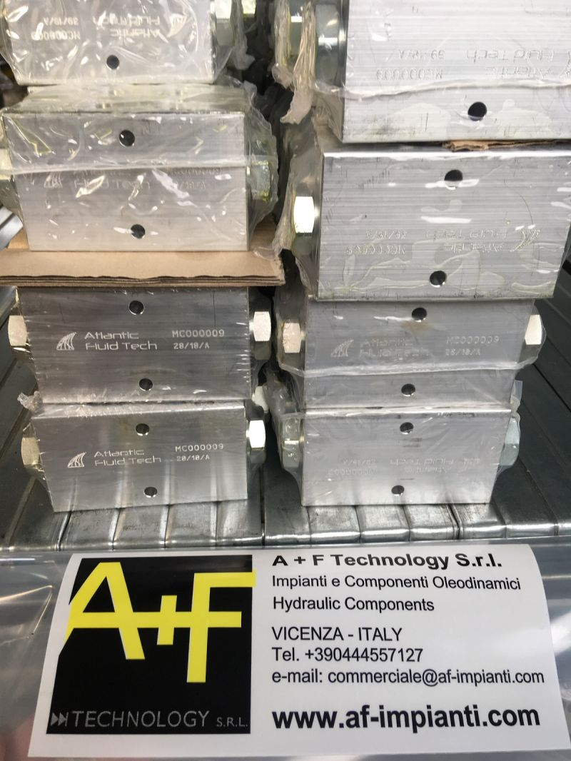 OFFERTA VALVOLE CF000116 FLOW RESTRICTOR VALVES - ATLANTIC FLUID TECH