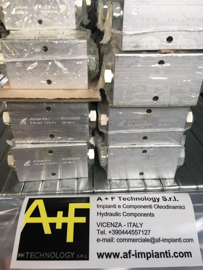 OFFERTA VALVOLE MD000026 AUTOMATIC DIRECTIONAL VALVE - ATLANTIC FLUID TECH