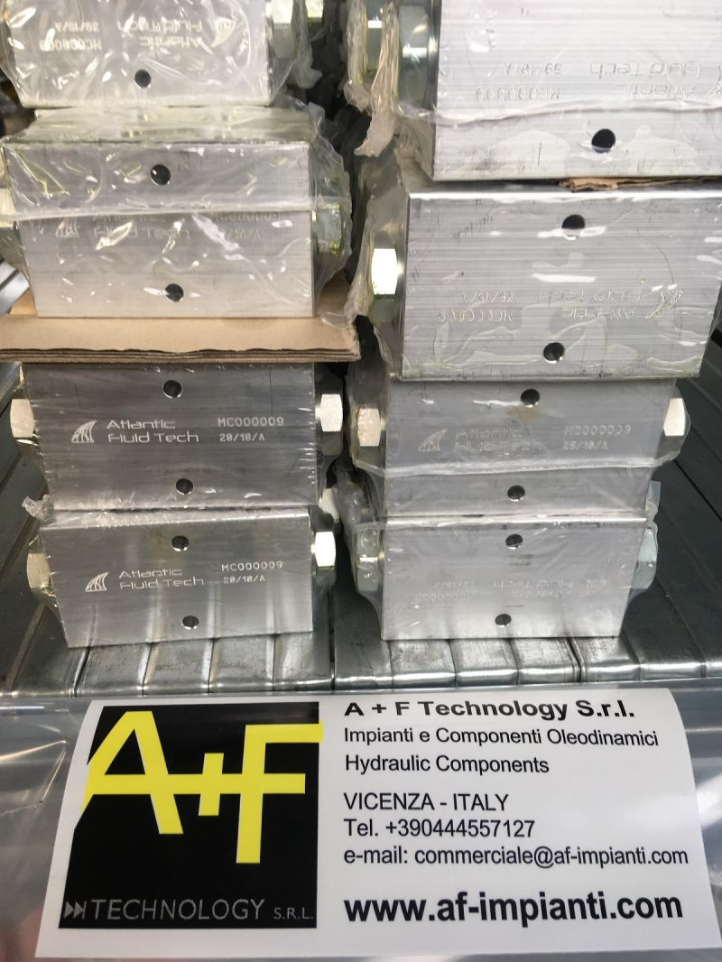 OFFERTA VALVOLE OLEODINAMICHE PV000171 DIN CONNECTOR - ATLANTIC FLUID TECH