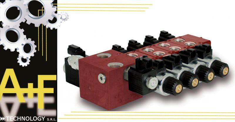 Offerta elettroproporzionali impianti oleodinamici - Occasione distributori componibili Vicenza