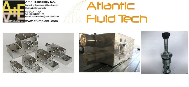 PROMOZIONE ATLANTIC FLUID TECH ML000266 EXCAVATORS BOOM VALVE