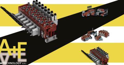 offerta sistemi per comandi elettroproporzionali vicenza occasione comandi a distanza e deviatori di flusso oleodinamici