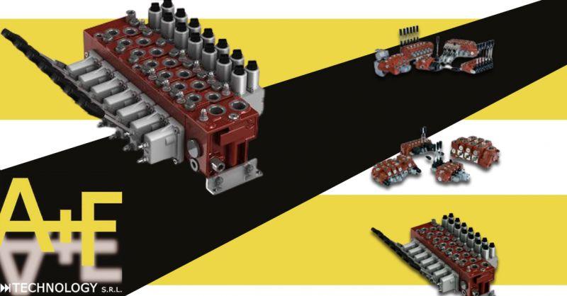 Offerta Sistemi per Comandi elettroproporzionali Vicenza - Occasione Comandi a Distanza e deviatori di flusso Oleodinamici