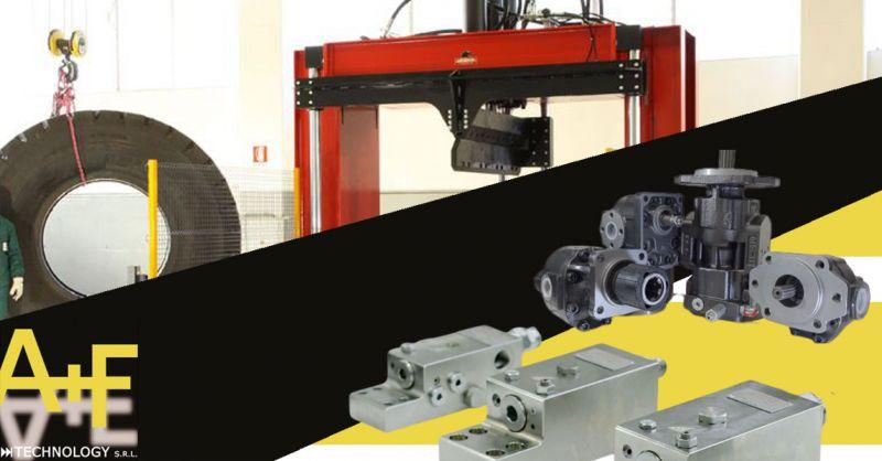 Offerta sistemi oleodinamici per Macchine lavorazione dei pneumaticie e lavorazione della lamiera Vicenza