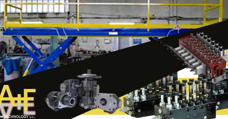 Offerta sistemi oleodinamici per Impianti di sollevamento automobili Vicenza