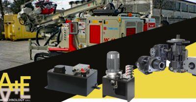 offerta sistemi oleodinamici per macchine trasformazione compattazione rifiuti vicenza