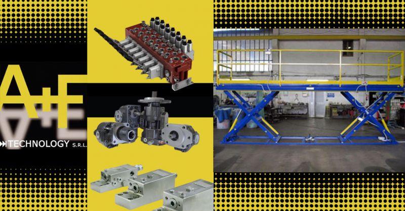 Offerta Componenti per sistemi oleodinamici Impianti di sollevamento automobili Vicenza